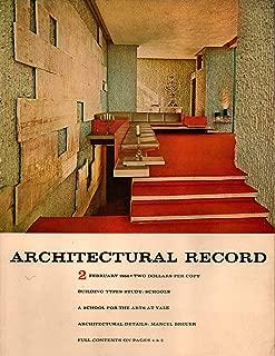 Architectural Record Magazine, February 1964, Issue 2 (Vol 135, No 2)
