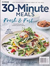 Cuisine at Home Magazine 30 Minute Meals