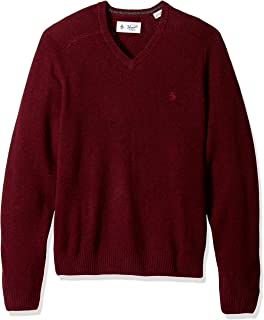 Men's P55 100% Lambswool V-Neck Sweater