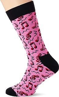 City Jazz Sock Calcetines, Rosa (Pink 300), 7/10 (Talla del fabricante: 41-46) para Hombre