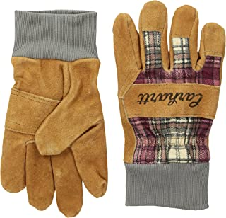 Carhartt Women's Suede Work-Knit Gloves