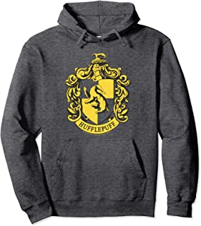 Harry Potter Hufflepuff Crest Pullover Hoodie Pullover Hoodie