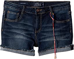 Lucky Brand Kids - Riley Denim Shorts in Barrier Wash (Big Kids)