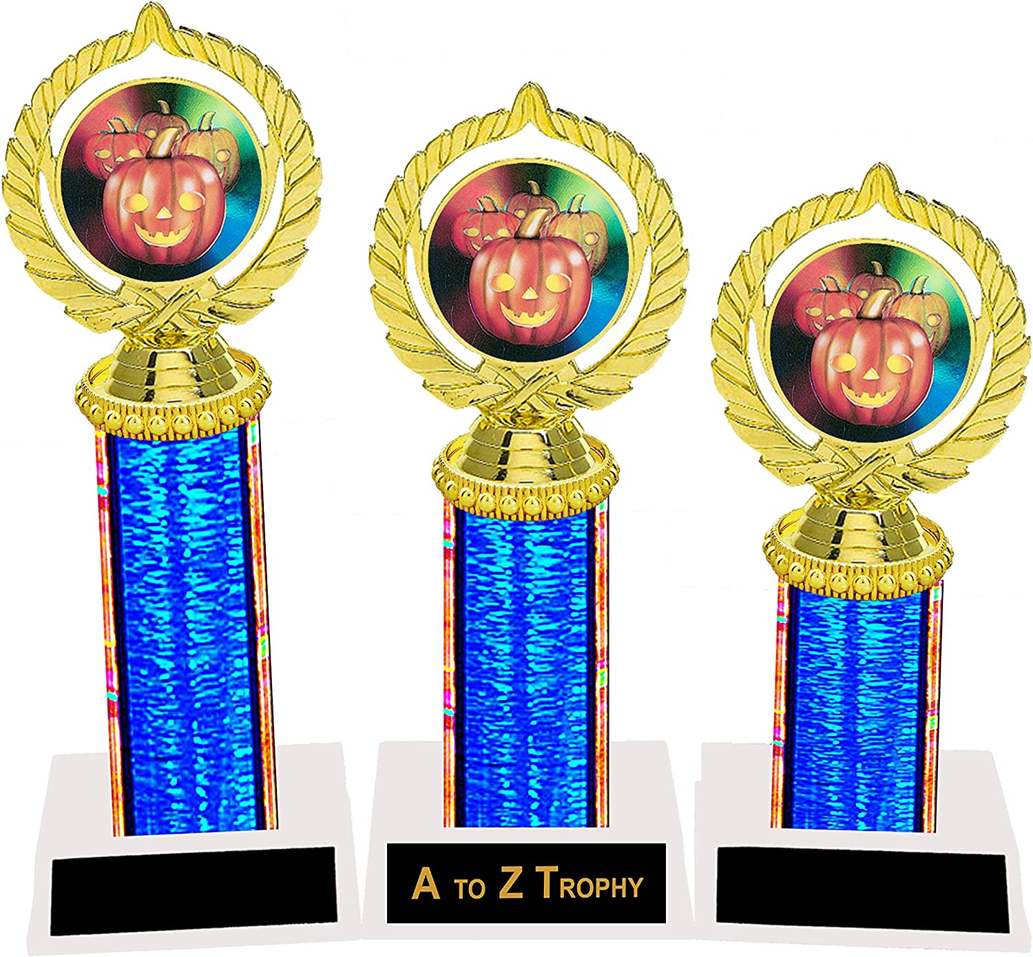 Trophies Orange Color Available - Very popular Raleigh Mall Halloween 3rd Trophy 1st P 2nd