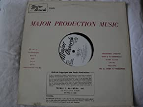 Major Records Major Production Music Vinyl Lp Tom Weatherley George Kleinsinger Tom Manhoff 1971 6069 Stereo
