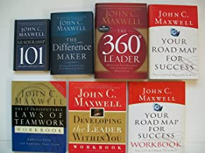 Leadership 101; Difference Maker; 360 Leader; Your Road Map for Success...(Set of 7)