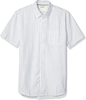 Amazon Brand - Goodthreads Men's Standard-Fit Short-Sleeve Oxford Shirt