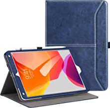Ztotops Case for iPad 10.2 2019 (7th Generation),Premium Leather Business Folio Case Cover,with Stand,Pocket and Auto Wake/Sleep Function,Multi-angle Cover for iPad 10.2 inch,Blue