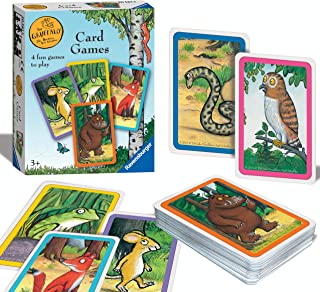 Ravensburger The Gruffalo Card Game for Kids Age 3 Years and Up - Snap, Happy Families, Swap or Pairs