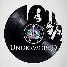 The Underworld - Selene - Kate Beckinsale - Vinyl Wall Clock - Handmade artwork - Unique home bedroom living kids room nursery wall decor great gifts idea for birthday, wedding, anniversary - Customiz