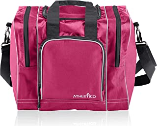 Athletico Bowling Bag for Single Ball – Single Ball Tote Bag with Padded Ball..