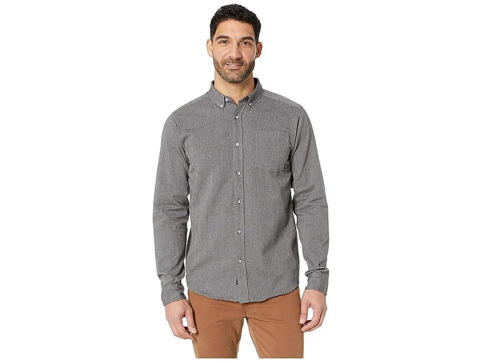 Mountain Hardwear Baxtertm Long Sleeve Shirt (Shark) Men