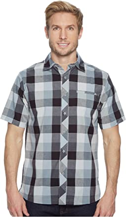 Everyday Exploration Retro Plaid Short Sleeve Shirt