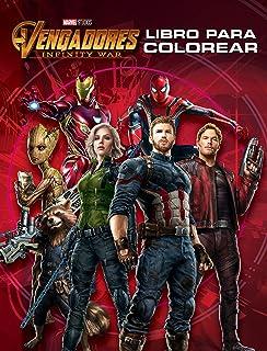 Vengadores. Infinity War. Libro para colorear (Marvel. Los Vengadores)