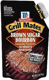 McCormick Grill Mates Brown Sugar Bourbon Single Use Marinade, 5 oz