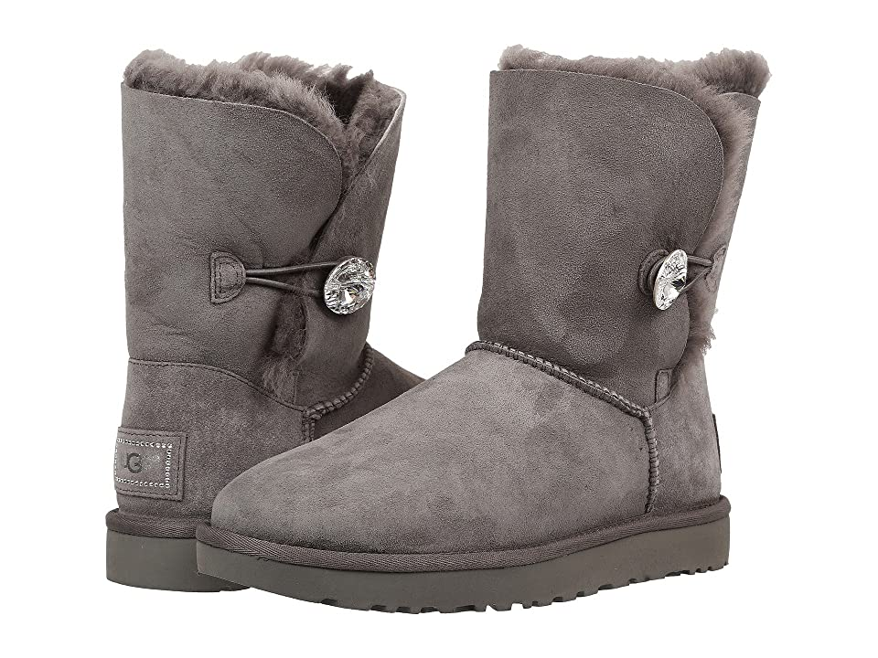 UGG Bailey Button Bling (Grey 2) Women