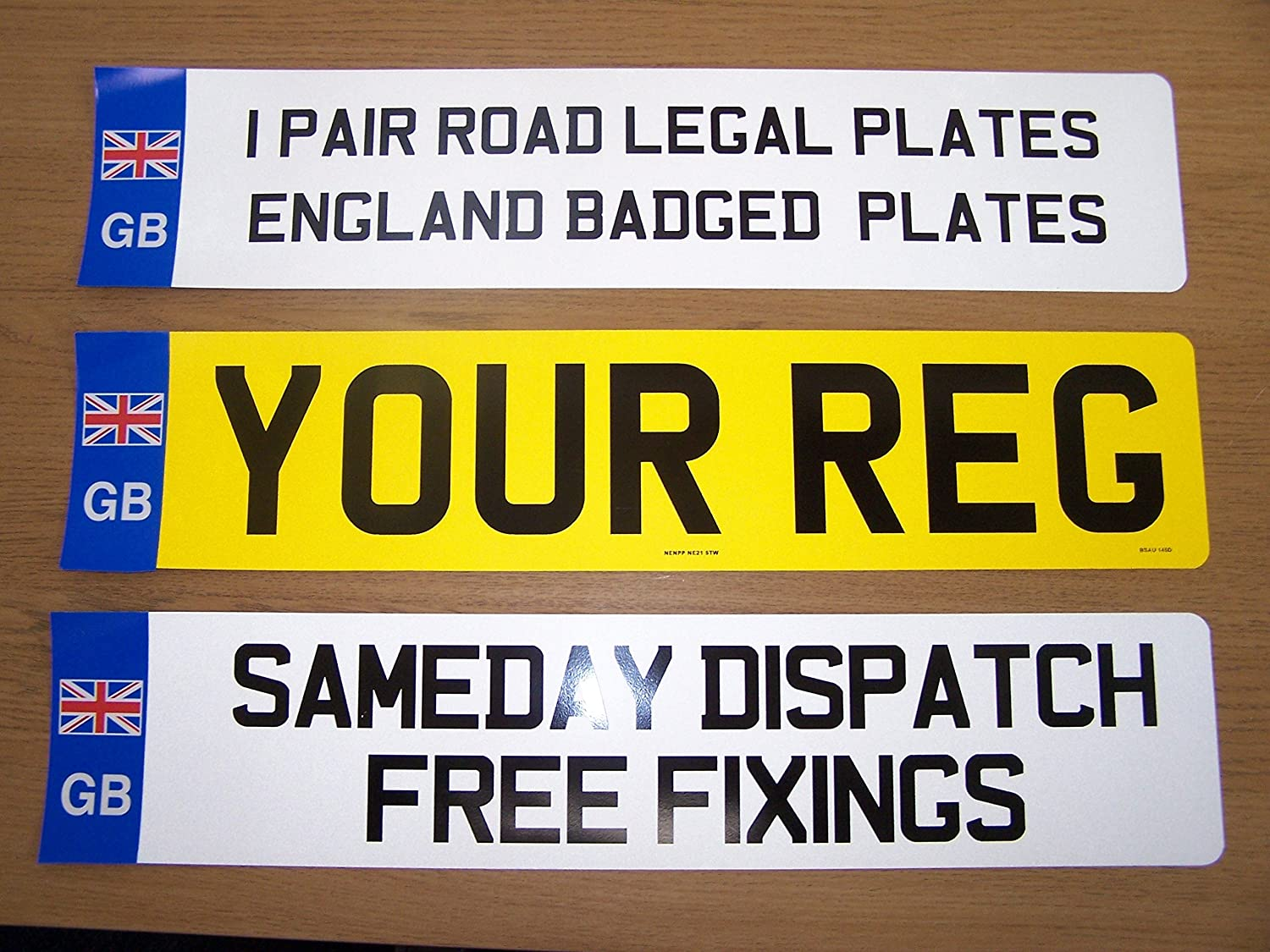 MOT COMPLIANT NENPP//PLATE SERVICES Pair GB Number Plates GB PAIR