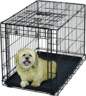 MidWest Homes for Pets Ovation Single Door Dog Crate, 31.25-Inch