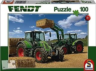 Schmidt Puzzle: 100 Tractor Cargo Front Loader