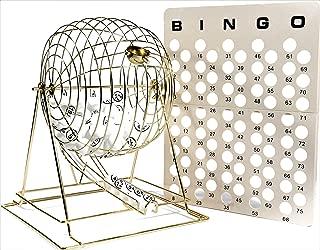 Regal Games Jumbo Professional Brass Ping Pong Ball Bingo Cage