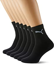 PUMA Heren Short Crew Socks Sportsokken met badstof zool 6 Pack Sportsokken