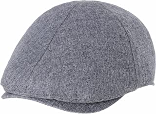 WITHMOONS Mens Flat Cap Simple Classic Bocaci Cotton Ivy Hat SL3651