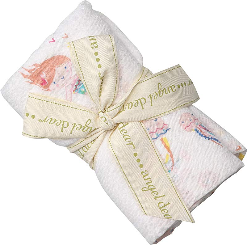 Angel Dear Bamboo Swaddle Blanket Mermaid