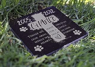 Memorial Pet Headstone - Loyal Companion, Dog and Cat Personalized Custom Granite Grave Marker