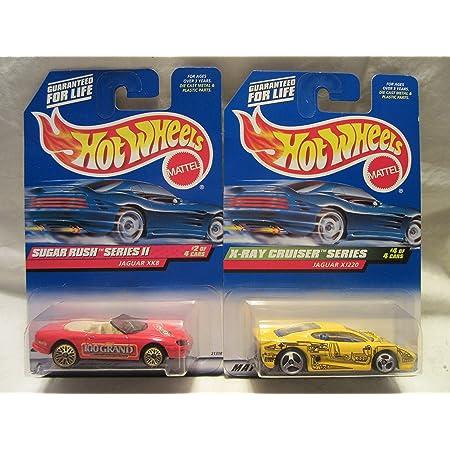 970 Jaguar XK8 1999 Sugar Rush Series II 2 of 4 Hot Wheels 1//64 diecast car No