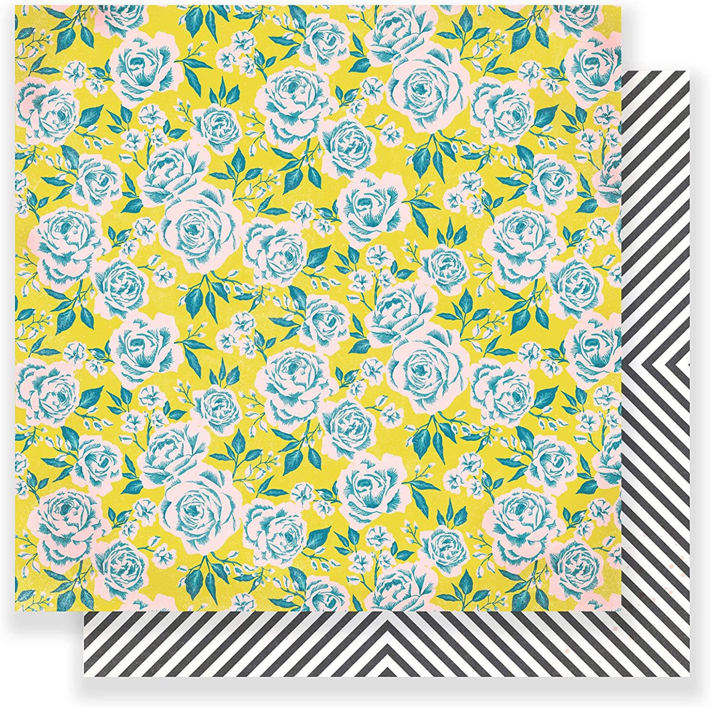 American Crafts 25 Stück 30,5 x 30,5 cm Papier Rosa Park, 12-x-12-inch B073RBD673     Starke Hitze- und Abnutzungsbeständigkeit