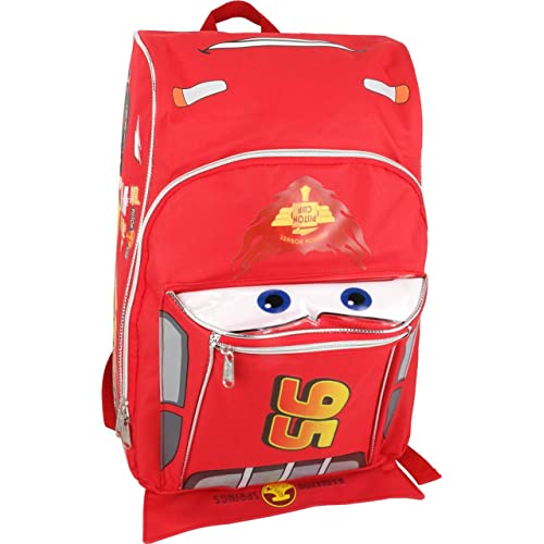 Disney Cars Shaped 12 Inch Toddler Backpack
