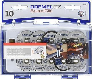 Kit d'Accessoires Dremel SC690 EZ SpeedClic - Coffret de Meules à Tronçonner pour Outil Mulltifonction Rotatif, 10 Disques...