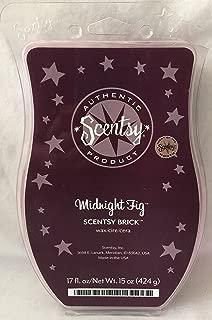 Scentsy Midnight Fig Wax 17oz Warmer Brick Bar Rare and Retired