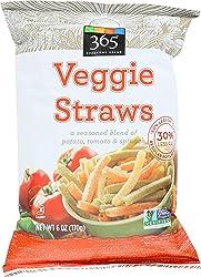 365 Everyday Value, Veggie Straws, 6 oz