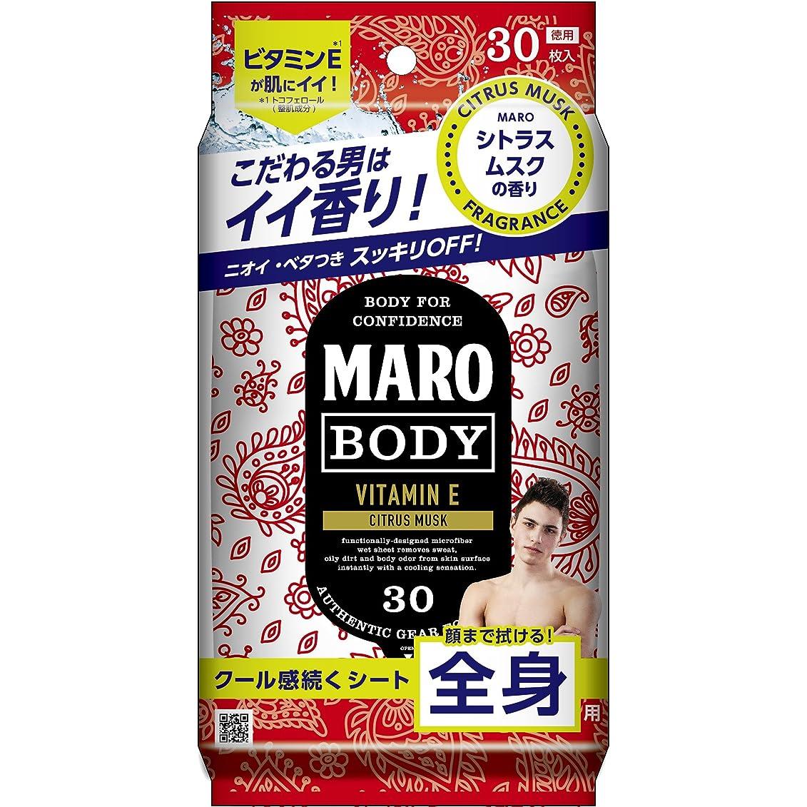 紳士王位道を作るMARO デザイン ボディシート ペイズリー 30枚