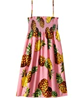 Dolce & Gabbana Kids - Tropical City Sleeveless Dress (Big Kids)