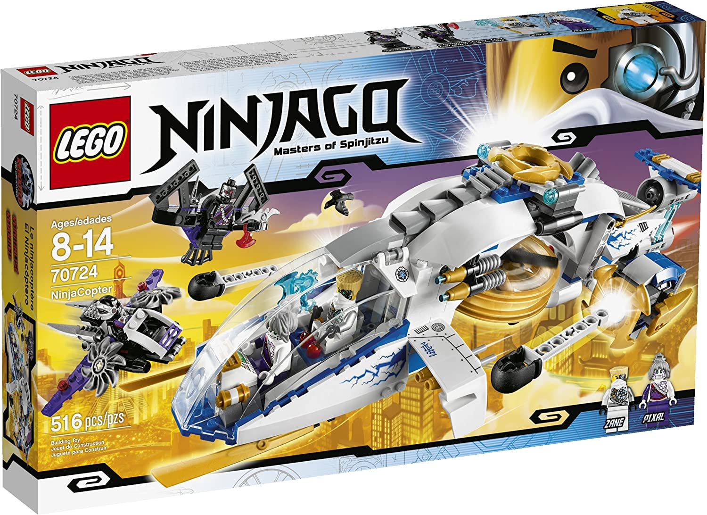 LEGO Ninjago - NinjaCopter - 70724 B00ERARM2I  Sonderkauf    | Vorzügliche Verarbeitung