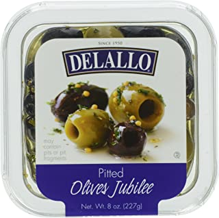 DeLallo, Pitted Olives Jubilee, 8 oz