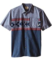 Vans Kids - Merced Short Sleeve Woven (Big Kids)