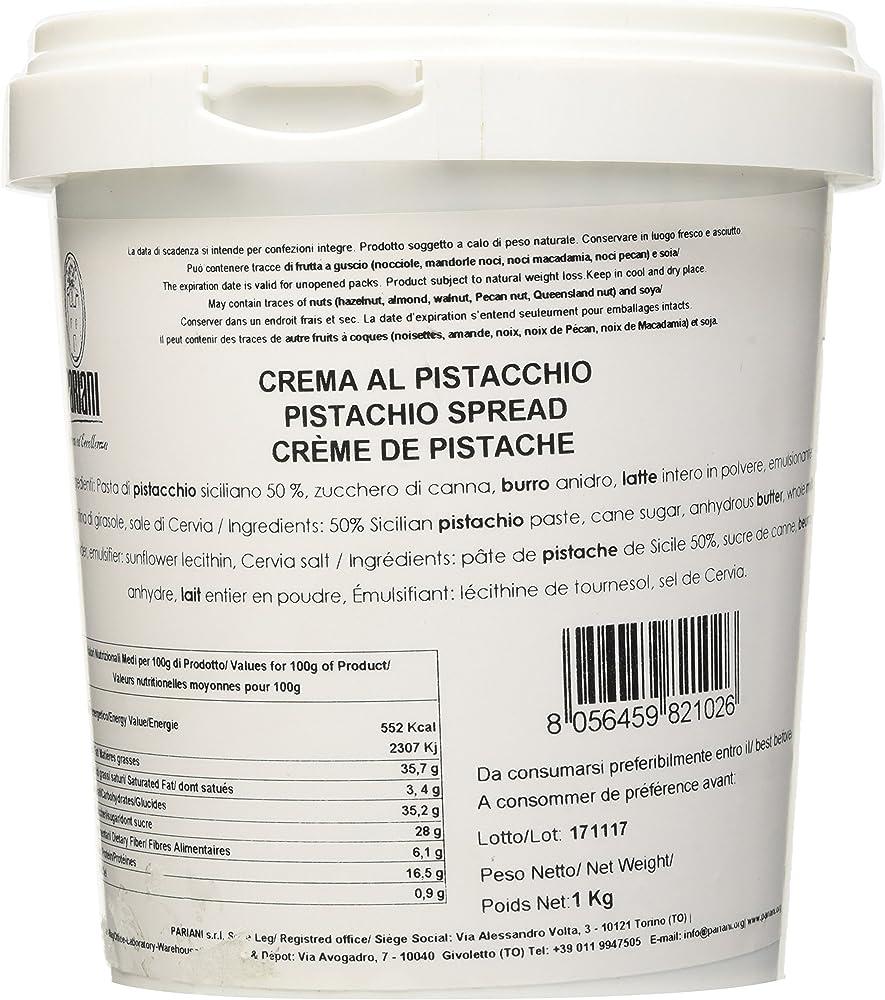 Pariani, crema spalmabile al pistacchio siciliano,1 kg