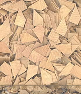 Dollhouse Miniature 1000 Large Diamond Cedar Shingles for Roofing by Alessio Miniatures