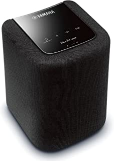 Yamaha wireless streaming speaker WX-010 Bluetooth AirPlay radiko.jp MusicCast? Corresponding Wi-Fi built-in black WX-010 (B)
