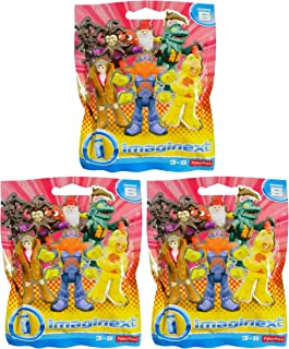 Bundle of 3: Fisher-Price Imaginext Collectible Figure Blind Bag Series 6