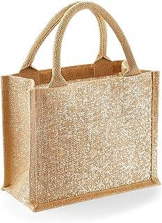 Westford Mill Shimmer Jute Mini Gift Bag (Pack of 2)