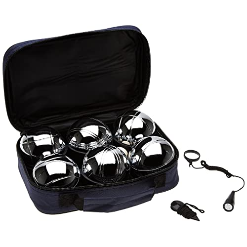 Hudora - 72000 - Set 6 boules de pétanque + 1 cochonnet
