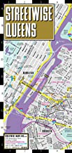 Streetwise Queens Map - Laminated City Street Map of Queens, New York - Folding pocket size travel map with subway stations & LIRR stops