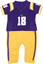 FAST ASLEEP LSU Tigers Home Baby NCAA Uniform Romper New