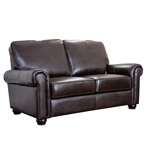 Italian Leather Sofa: Amazon.com