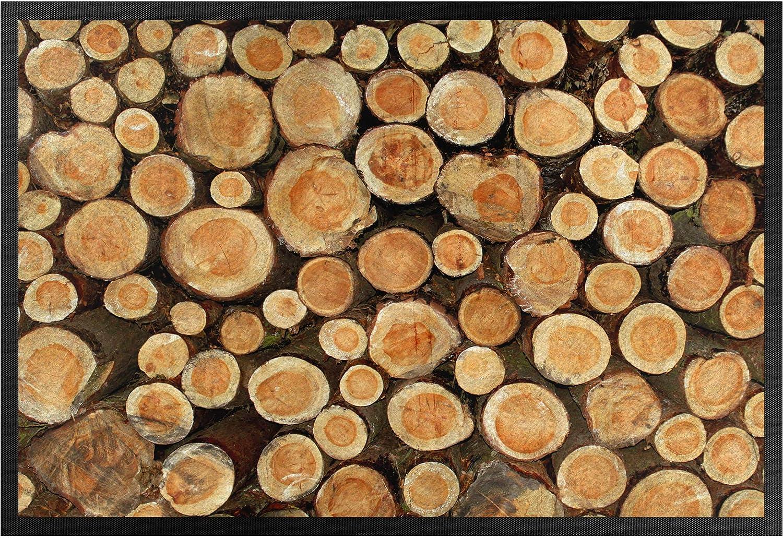 Bilderwelten Bilderwelten Bilderwelten Fußmatte - No.YK18 Baumstämme, Größe HxB  60cm x 85cm B07K8DKL7T 186689
