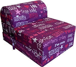 Chauffeuse Polyester Fashion 75 x 58 x 48 cm
